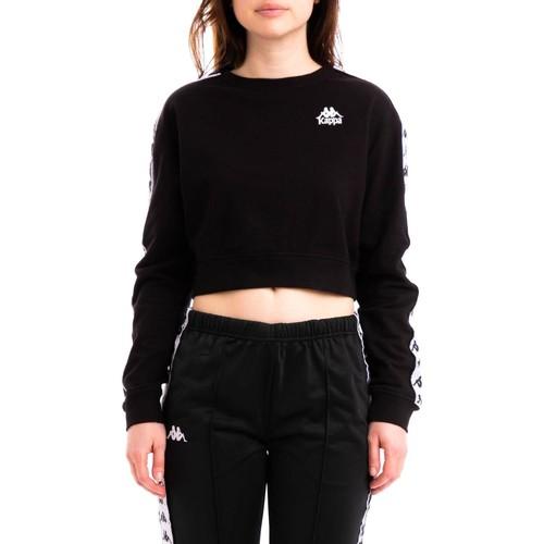 Vêtements Femme Sweats Kappa AYS noir