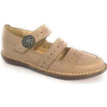 Chaussures Fille Derbies & Richelieu Colores Shiny Beige Beige