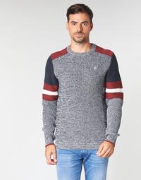 Vêtements Homme Pulls Petrol Industries M-3090-KWR227-5091 Gris / Bleu / Rouge