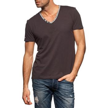 Vêtements Homme T-shirts manches courtes Japan Rags T-Shirt  Kauri gris Noir
