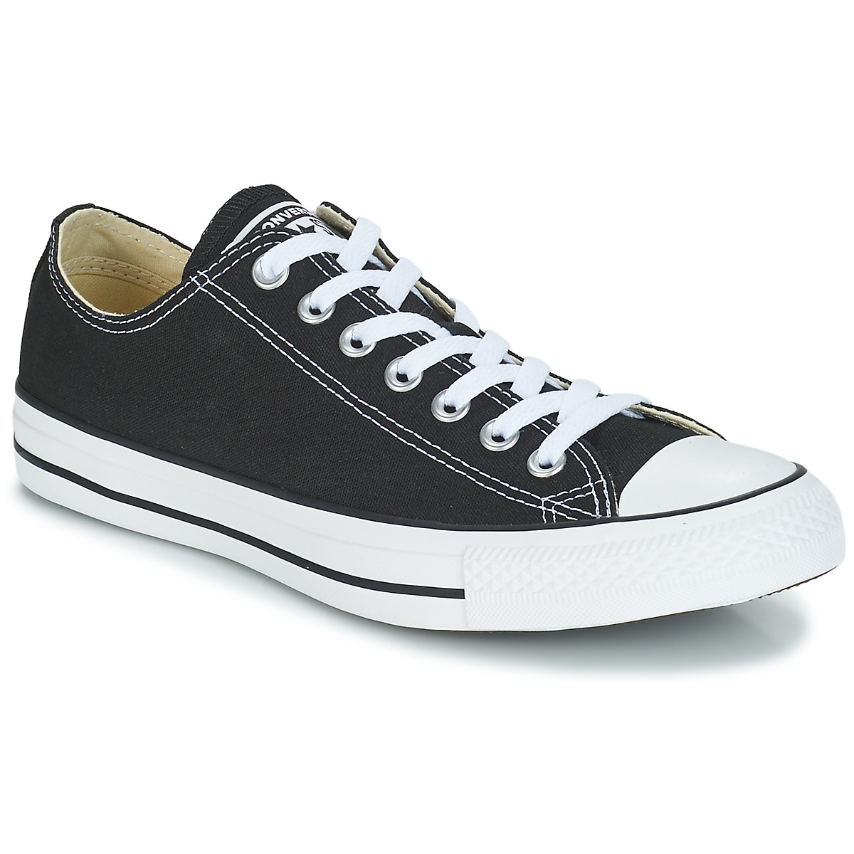 Chaussures Baskets basses Converse CHUCK TAYLOR ALL STAR CORE OX Noir 157cdd81f8d