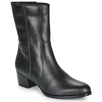 Chaussures Femme Bottines So Size GASPARD Noir
