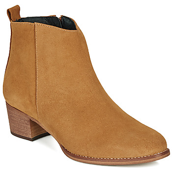 Chaussures Femme Bottines So Size MARTINO Camel