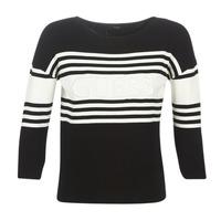 Vêtements Femme Pulls Guess VIOLANTE Noir / Blanc