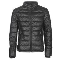 Vêtements Homme Vestes en cuir / synthétiques Guess STRETCH PU QUILTED Noir