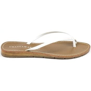 Chaussures Femme Sandales et Nu-pieds Chattawak sandales 7-RIADE Blanc Blanc