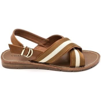 Chaussures Femme Sandales et Nu-pieds Chattawak sandales 7-TIFFANY Camel Marron