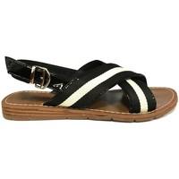 Chaussures Femme Sandales et Nu-pieds Chattawak sandales 7-TIFFANY Noir Noir