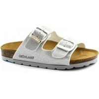 Chaussures Enfant Mules Grunland GRU-E19-CB0664-AR-b Argento