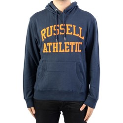 Vêtements Homme Sweats Russell Athletic à Capuche Iconic Tackle Twill Hoody Marine/Blue
