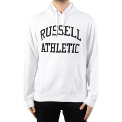 Vêtements Homme Sweats Russell Athletic à Capuche Iconic Tackle Twill Hoody Blanc