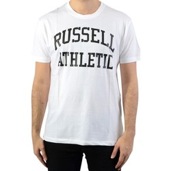 Vêtements Homme T-shirts manches courtes Russell Athletic Iconic S/S Tee Blanc