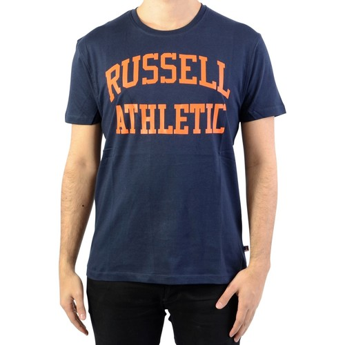 Vêtements Homme T-shirts manches courtes Russell Athletic Tee-Shirt Iconic S/S Tee Navy