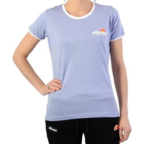 Vêtements Femme T-shirts manches courtes Ellesse Tee Shirt Heritage Femme Lavande