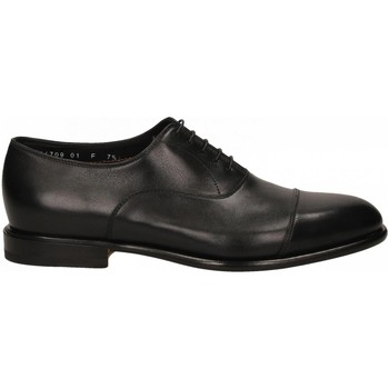 Chaussures Homme Richelieu Santoni FRANC.5F.PUNTINA GUANTO n01-nero