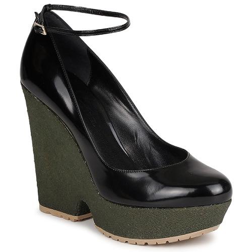 Chaussures Femme Escarpins Sonia Rykiel LOCK Noir / Vert