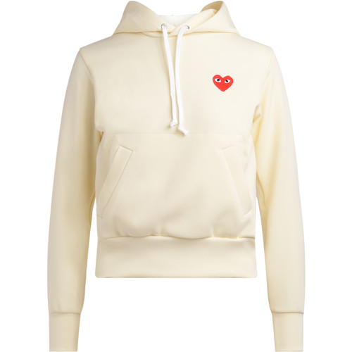 Vêtements Femme Sweats Comme Des Garcons Sweat couleur ivoire avec capuche Blanc