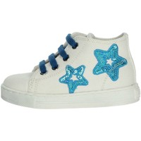 Chaussures Fille Baskets basses Falcotto 0012012360.02.9111 Blanc/Bleu clair