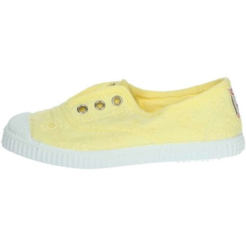 Chaussures Fille Baskets basses Cienta 70998 Jaune