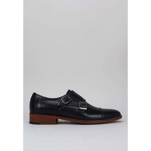 Roberto Monk Homme Noir By Rt Torretta Chaussures Derbies CWroxBde