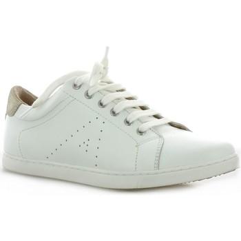 Chaussures Femme Baskets basses So Send Baskets cuir Blanc/sable