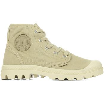 Chaussures Femme Boots Palladium Manufacture Us Pampa Hi Wn's beige