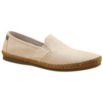 Chaussures Homme Mocassins Fluchos mocassin 8674 blanc