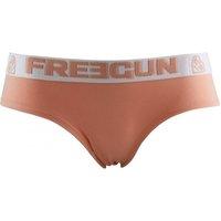 Sous-vêtements Femme Shorties & boxers Freegun Shorty Femme Microfibre BMASSA Abricot Blanc Orange