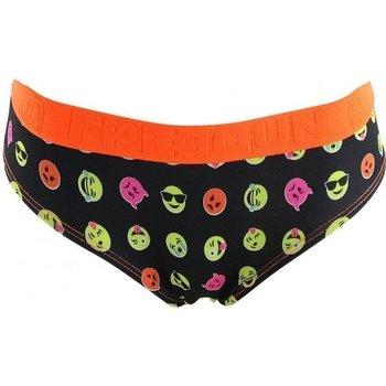 Sous-vêtements Femme Shorties & boxers Freegun Shorty Femme Microfibre BMEMO Noir Orange Orange