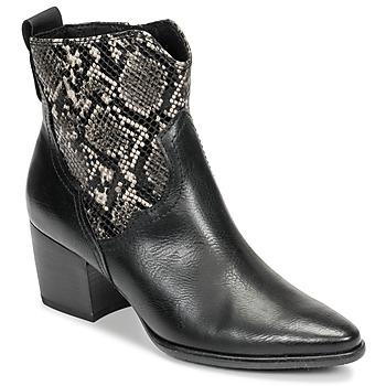 Chaussures Femme Bottines Marco Tozzi  Noir