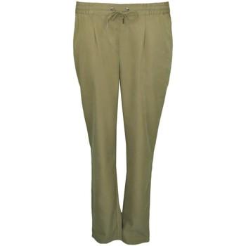 Vêtements Femme Pantalons Tommy Jeans Pantalon fluide  vert kaki pour femme Vert