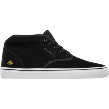 Chaussures Homme Chaussures de Skate Emerica WINO G6 MID BLACK WHITE GOLD