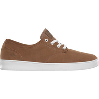 Chaussures Homme Chaussures de Skate Emerica THE ROMERO LACED BROWN WHITE GUM