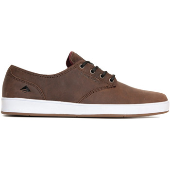 Chaussures Homme Chaussures de Skate Emerica THE ROMERO LACED BROWN GREY WHITE