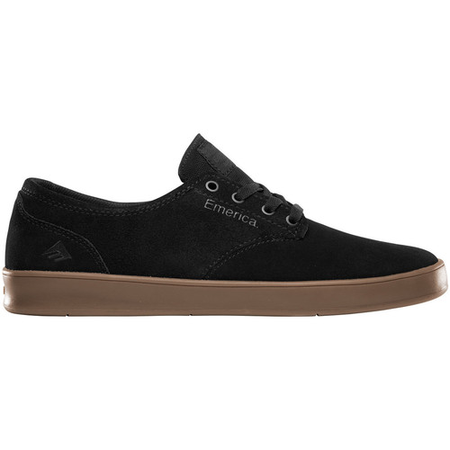 Emerica Skate Charcoal Gum The Homme Black Laced De Chaussures Romero NOvmnw80
