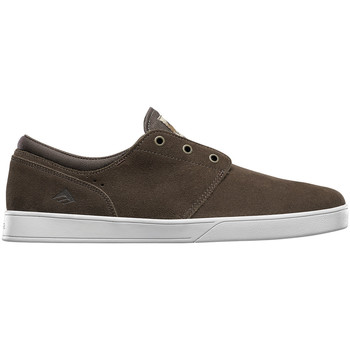 Chaussures Homme Chaussures de Skate Emerica THE FIGUEROA BROWN WHITE GUM