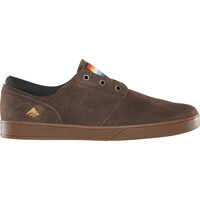 Chaussures Homme Chaussures de Skate Emerica THE FIGUEROA BROWN GUM GOLD