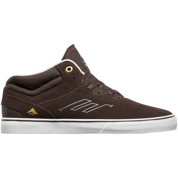 Chaussures Homme Baskets montantes Emerica WESTGATE MID VULC DARK BROWN