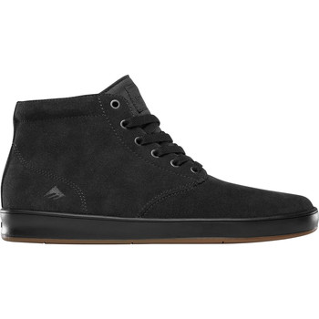 Chaussures Homme Baskets montantes Emerica ROMERO LACED HIGH DARK GREY BLACK GUM