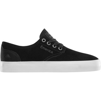 Chaussures Enfant Chaussures de Skate Emerica THE ROMERO LACED YOUTH BLACK WHITE GUM