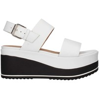 Chaussures Femme Sandales et Nu-pieds Janet Sport 43726 blanc