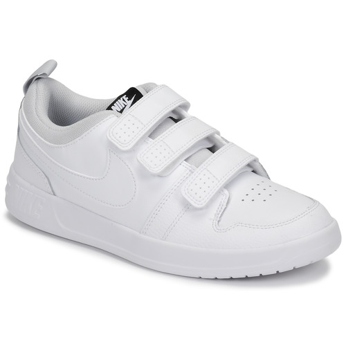 Chaussures Enfant Baskets basses Nike PICO 5 GRAND SCHOOL Blanc