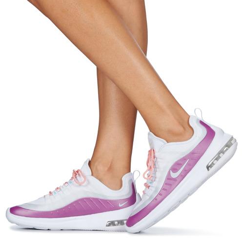 Prix Réduit Chaussures ihjdfh465DHU Nike AIR MAX AXIS W Blanc / Violet
