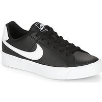 Chaussures Femme Baskets basses Nike COURT ROYALE AC W Noir / Blanc