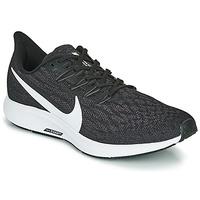 Chaussures Homme Running / trail Nike AIR ZOOM PEGASUS 36 Noir / Blanc