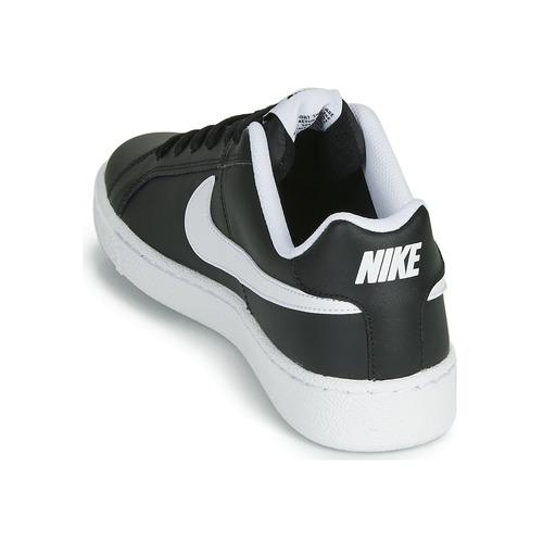 Homme Royale Basses Baskets Chaussures Court NoirBlanc Nike 54j3ALR