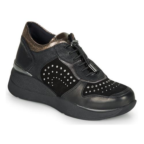Chaussures Femme Baskets basses Stonefly ELETTRA 6 Noir