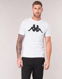 Vêtements Homme T-shirts manches courtes Kappa ESTESSO Blanc