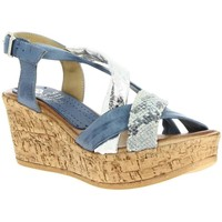 Chaussures Femme Sandales et Nu-pieds Marila 503 bleu