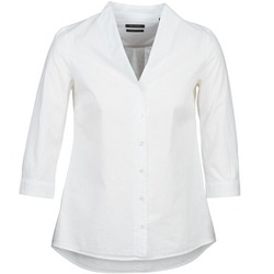 Vêtements Femme Chemises / Chemisiers Marc O'Polo ALESSIA Blanc